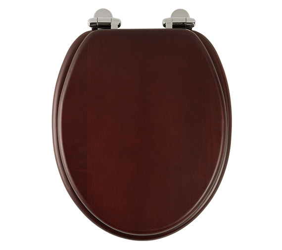 Roper Rhodes Traditional Mahogany Solid Wood Toilet Seat - 8081MSC