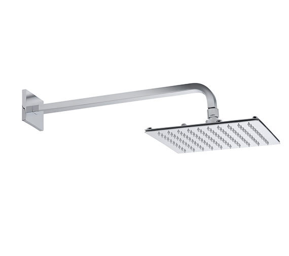 Roper Rhodes Square Fixed Arm With 230mm Square Shower Head