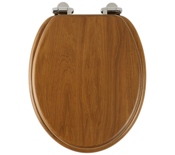 Roper Rhodes Traditional Honey Oak Solid Wood Toilet Seat - 8081HOSC