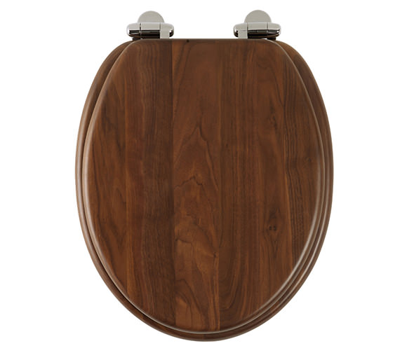 Roper Rhodes Traditional Walnut Solid Wood Toilet Seat - 8081AWSC