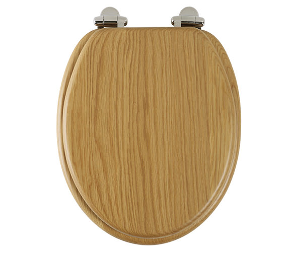 Roper Rhodes Traditional Natural Oak Solid Wood Toilet Seat - 8081NOSC