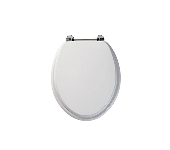 Roper Rhodes Axis Real Wood Toilet Seat White Finish - 8065WH