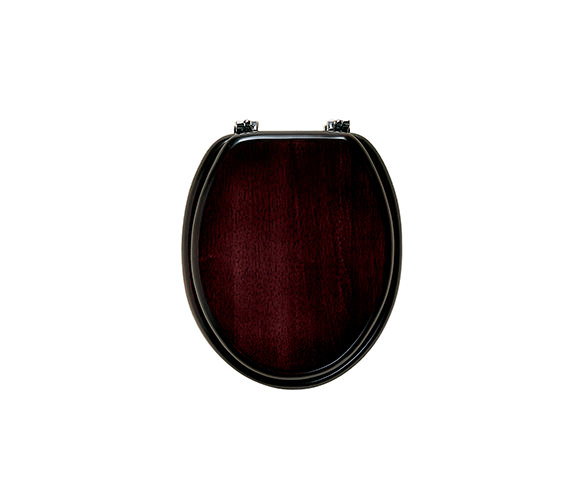 Roper Rhodes Malvern Solid Wood Toilet Seat Mahogany Finish - MTS1MC