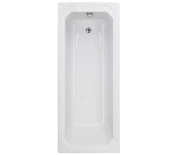Beo Soul 1700 x 700mm Single Ended Straight Acrylic Bath