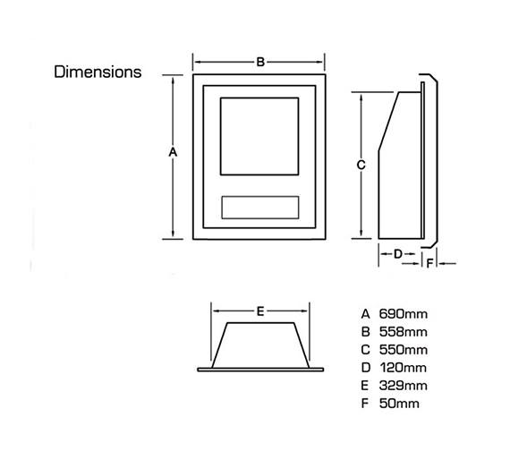 Technical drawing QS-V24029 / FSRCYYMN