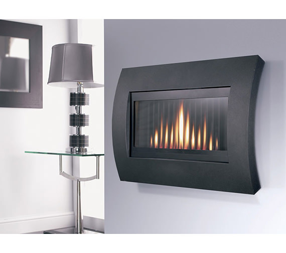 Flavel Curve Hole In The Wall Gas Fire Remote Control Black - FCRR00RN