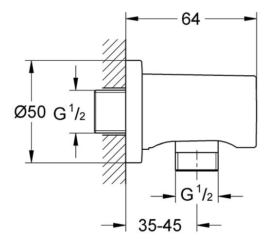 Technical drawing QS-V24048 / 27057000