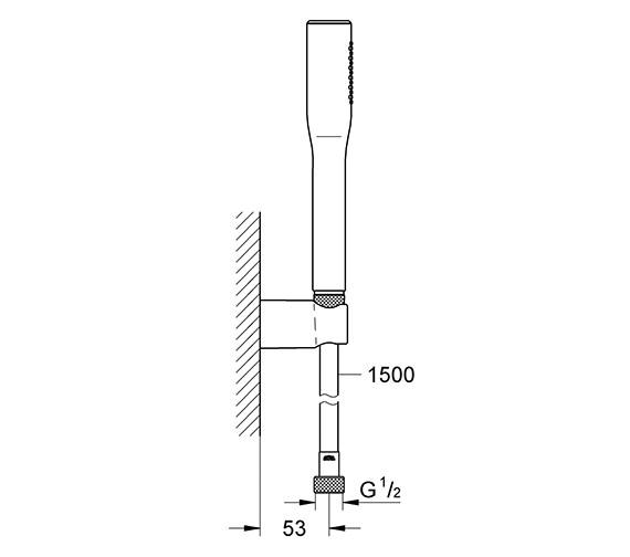 Technical drawing QS-V24062 / 27369000