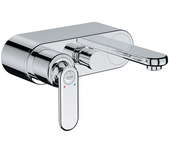 Grohe Spa Veris Single Lever Bath Shower Mixer Tap Chrome - 32195000