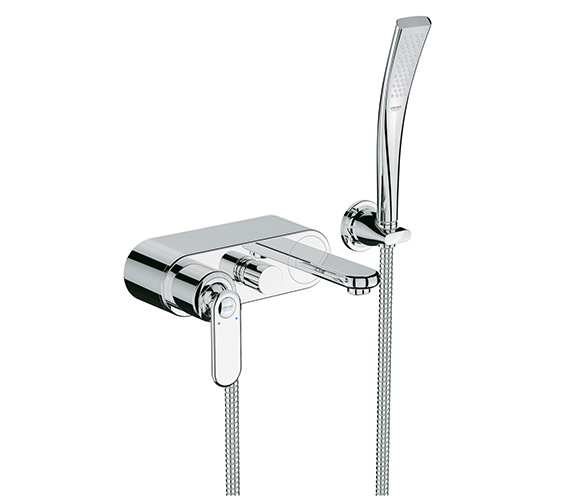 Grohe Spa Veris Wall Mounted Single Lever Bath Shower Mixer Chrome