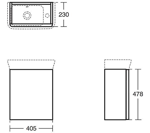 Technical drawing QS-V24105 / T7804WG