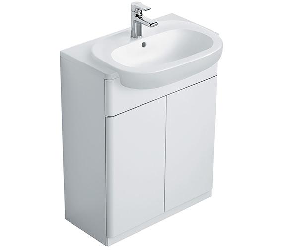Ideal Standard Softmood Semi-Countertop Basin Unit White -T7818WG