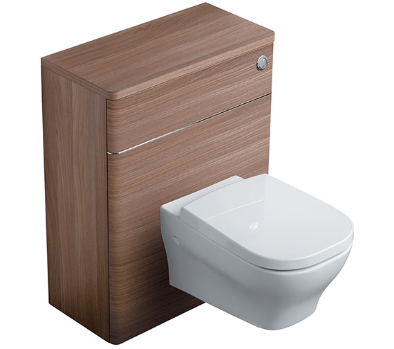 Ideal Standard Softmood 650mm WC Unit Walnut - T7819S6