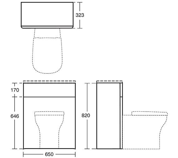 Technical drawing QS-V24107 / T7819S6