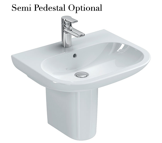 Additional image of Ideal Standard SoftMood 600mm Washbasin White - T055401