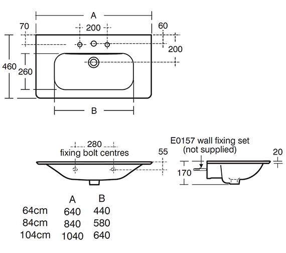 Technical drawing QS-V24113 / T055701