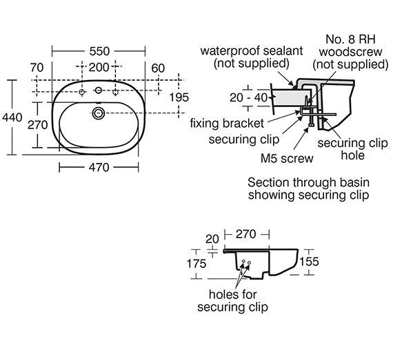Technical drawing QS-V24117 / T055301