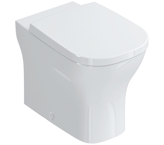 Ideal Standard SoftMood Back-To-Wall WC With Seat And Cover 560mm