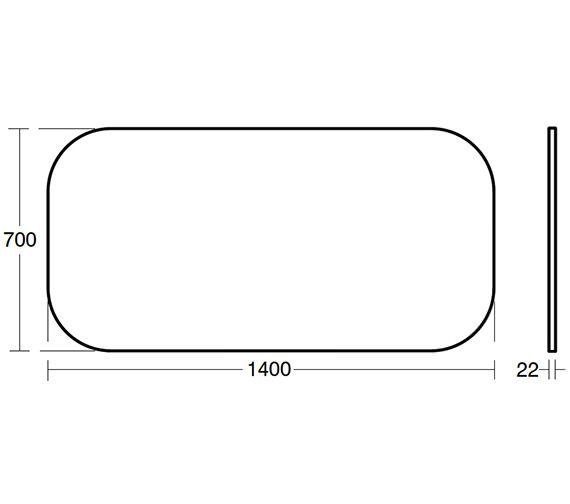 Technical drawing QS-V24130 / T7828BH
