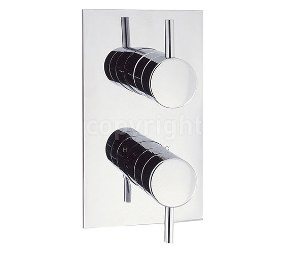 Crosswater Elite Thermostatic Shower Valve Portrait - EL1000RC