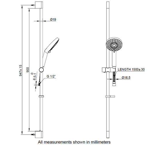 Additional image for QS-V24212 Crosswater - SK985C