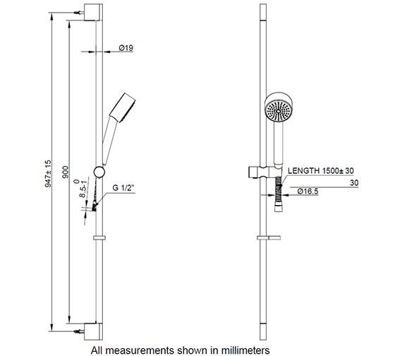 Technical drawing QS-V24212 / SK985C