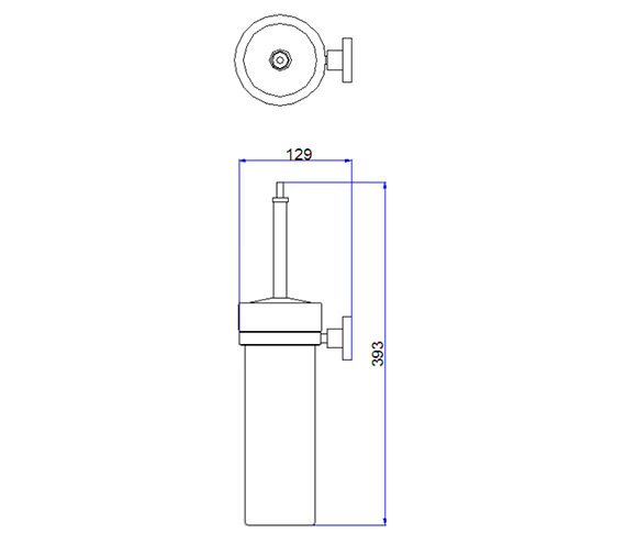 Technical drawing QS-V24238 / CE025C