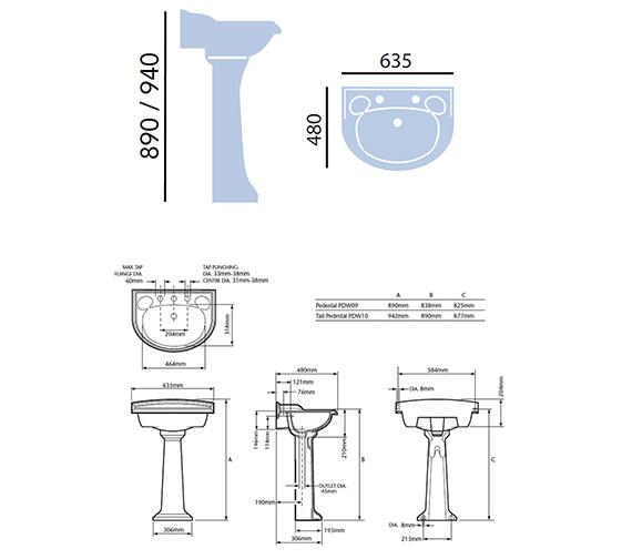Technical drawing QS-V24270 / PDW051