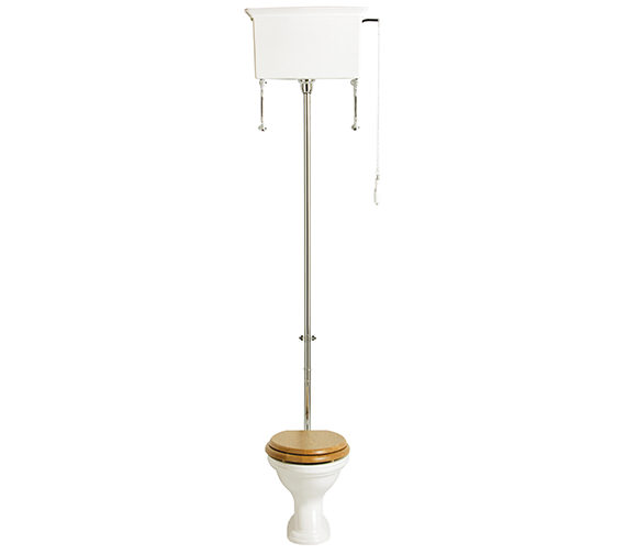 Heritage Dorchester High Level Flush Pack WC And Cistern