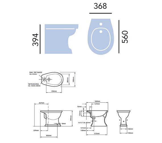 Technical drawing QS-V24280 / PDW03