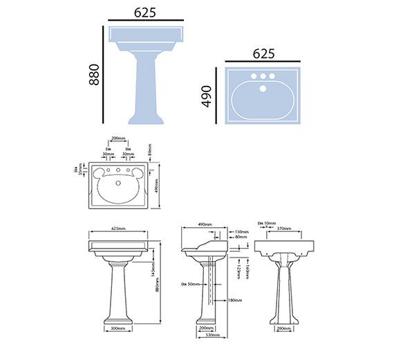 Technical drawing QS-V24281 / PVEW05