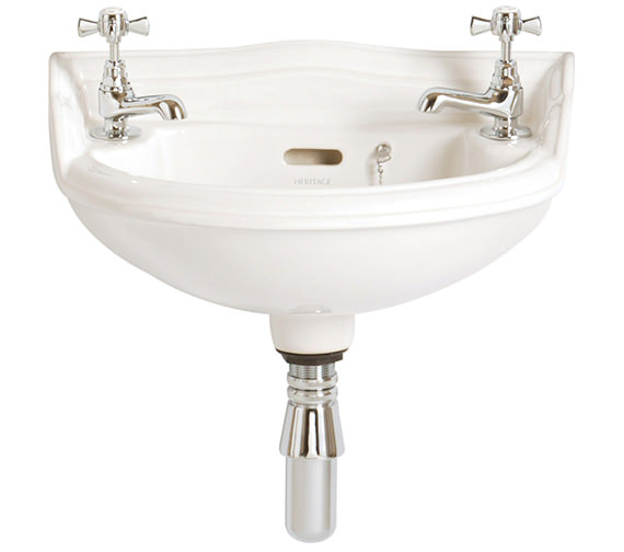 Heritage Dorchester 2 Taphole Baby Basin - PDW08