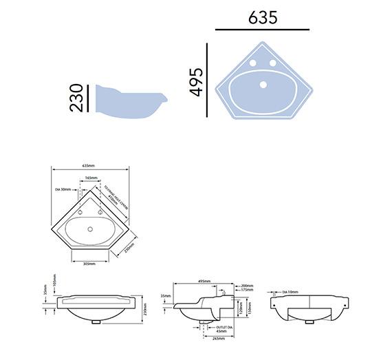 Technical drawing QS-V24283 / PDW11