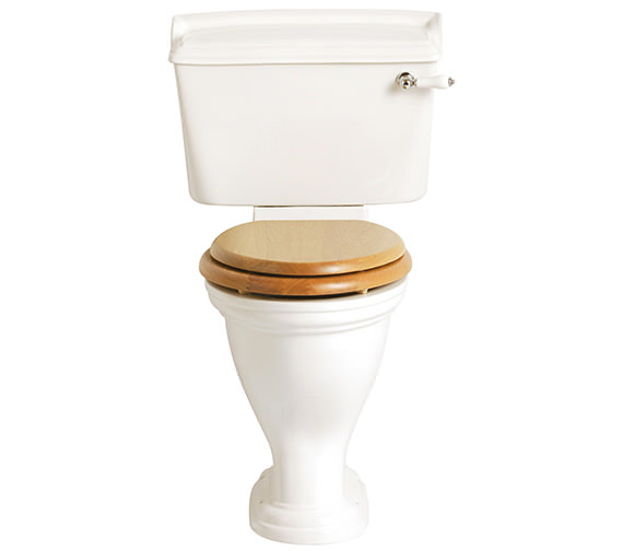 Heritage Dorchester Close Coupled Comfort Height WC And Cistern