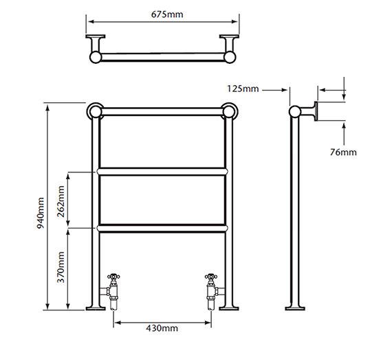 Technical drawing QS-V24363 / AHC70