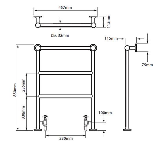 Technical drawing QS-V24365 / AHC79