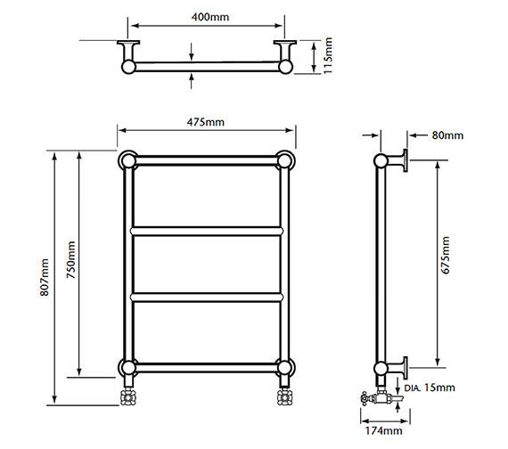 Technical drawing QS-V24366 / AHC94