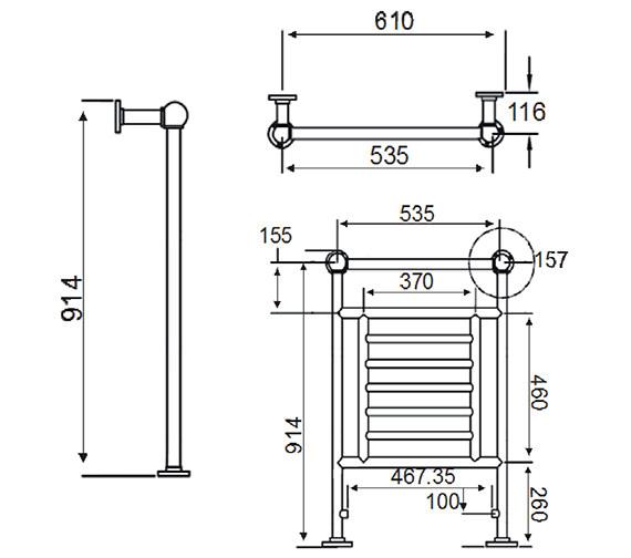 Technical drawing QS-V24367 / AHC74