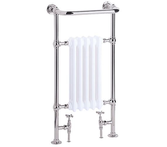 Heritage Baby Clifton 498mm Wide Heated Towel Rail