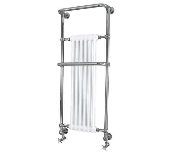 Heritage Cabot Wall Hung Heated Towel Rail
