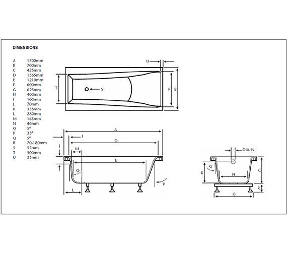 Technical drawing QS-V24400 / BVEW01SS