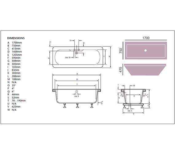 Technical drawing QS-V24401 / BHPW1775D