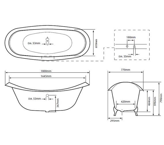 Technical drawing QS-V24407 / BRT40