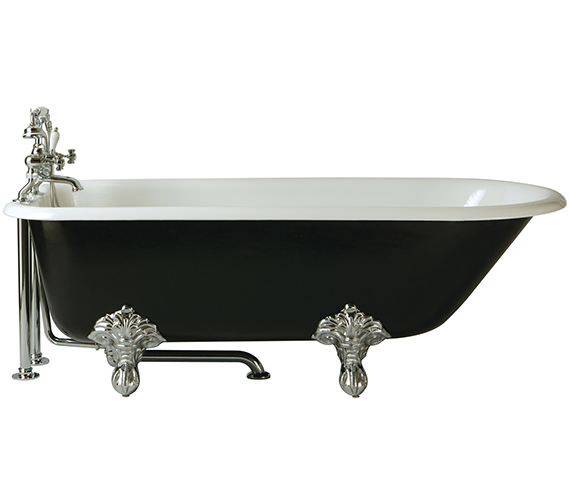 Heritage Essex Freestanding Roll Top Cast Iron Bath With Feet