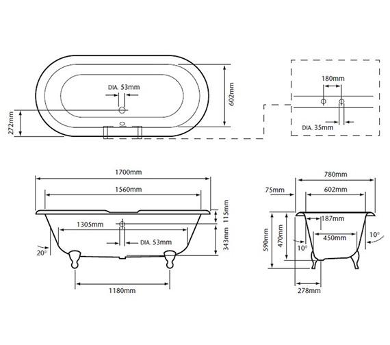 Technical drawing QS-V24409 / BRT79
