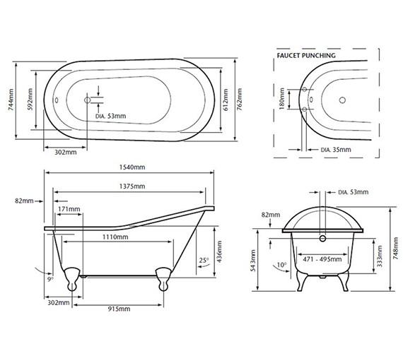 Technical drawing QS-V24410 / BRT07