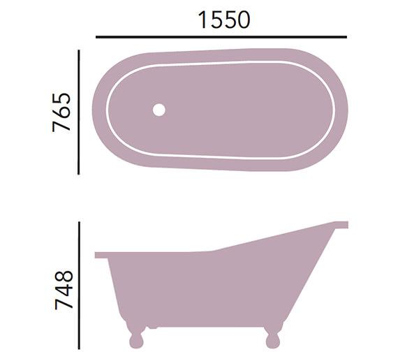 Additional image of Heritage Bathrooms  BRT07