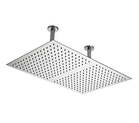 Hudson Reed 600 x 400mm Ceiling Mounted Shower Head And Arm
