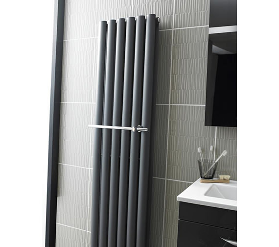 hudson reed towel rail for revive radiator hl318. Black Bedroom Furniture Sets. Home Design Ideas