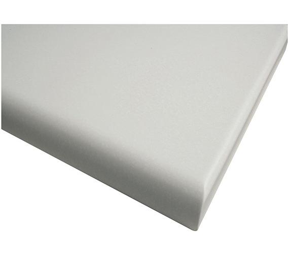 Roper Rhodes White 506mm Worktop For Semi Countertop Basin